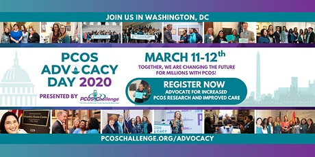 PCOS Advocacy Day 2020 tickets