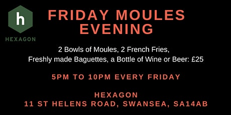 Friday Moules Night tickets