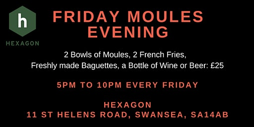 Friday Moules Night