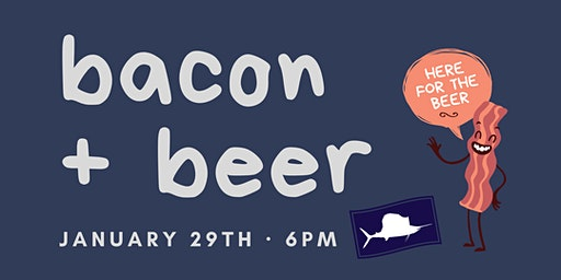 Bacon + Beer Pairing  at Sailfish Brewing Co