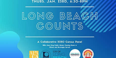 Long Beach Counts: A 2020 Census Collaborative Panel Discussion tickets