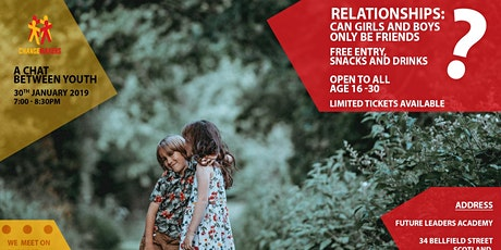 Relationships: Can Girls and Boys Only Be Friends? tickets