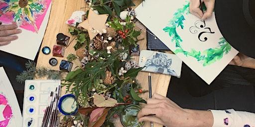 Watercolour Wreath Masterclass- Winter Botanicals