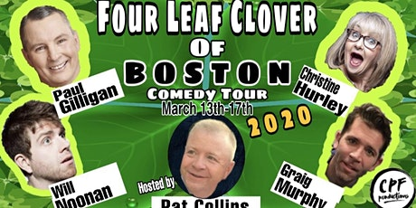 Four Leaf Clover Of Boston Comedy Tour at Cape Cod Irish Village Sat 3/14 tickets