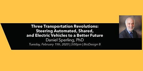 NAE Grand Challenges for Engineering Speaker Series: Three Transportation Revolutions tickets