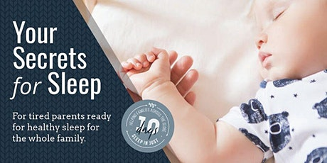 Infant & Toddler Sleep Seminar tickets
