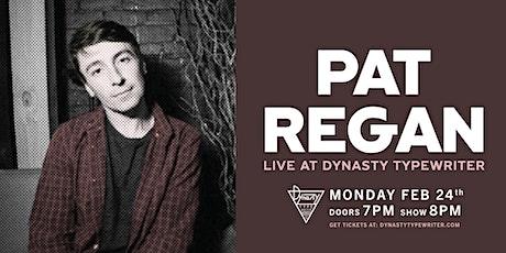 Pat Regan tickets