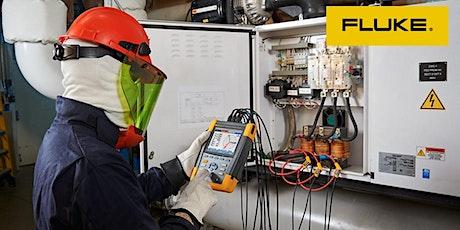 Certificação Fluke de  Qualidade de Energia ingressos