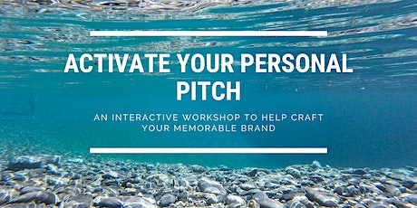 Activate Your Personal Pitch tickets