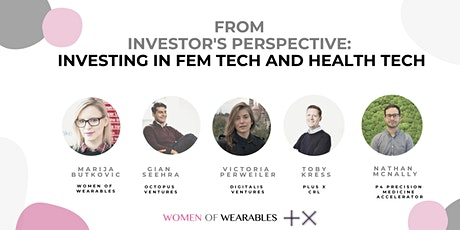 From Investors Perspective - Investing in Fem Tech and Health Tech tickets