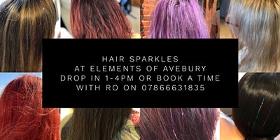 Hair Sparkles at Elements of Avebury - £10pp