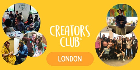 Creative Networking in London | CREATORS FOCUS: Success & Refocusing tickets