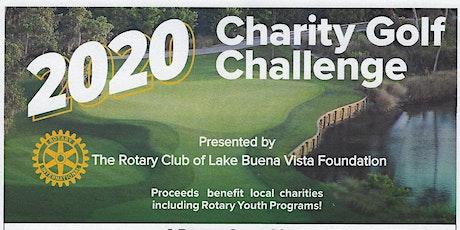 2020 Charity Golf Challenge tickets