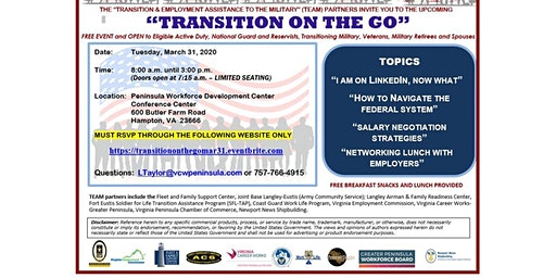 Transition On The Go (TOG) - March 2020