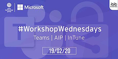 #WorkshopWednesdays - 01 tickets