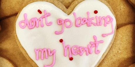 Valentine's Cookie Decorating w/ baked&wired (Round 2!) tickets