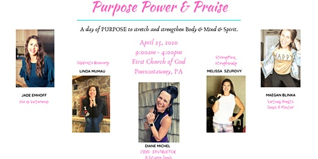 Purpose Power and Praise tickets
