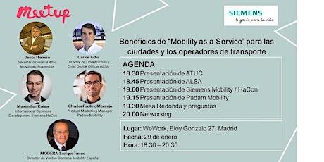 Beneficios de Mobility as a Service (MaaS) para ciudades y operadores entradas