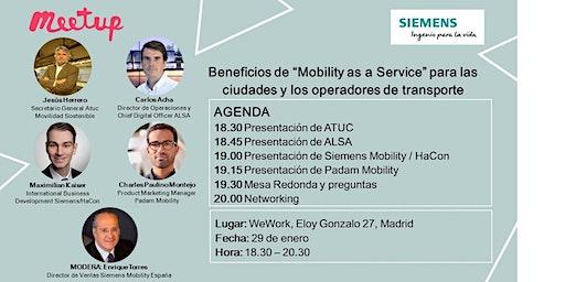 Beneficios de Mobility as a Service (MaaS) para ciudades y operadores