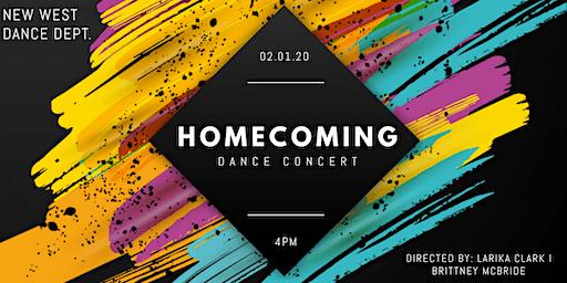 "New West Dance Department Winter Concert  Presents...""Homecoming"""