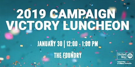 Campaign Victory Luncheon tickets