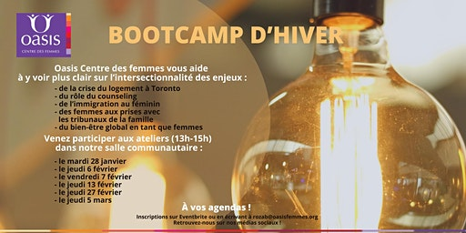 Bootcamp d'hiver
