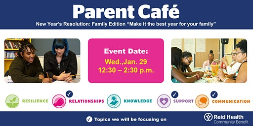 Parent Cafe - New Year's Resolution: Family Edition
