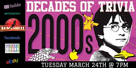 2000's Pop Culture Trivia at Bombshell Beer Company tickets