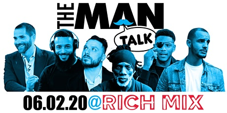 The Man Talk (6 Panellists & 200+ male only audience) tickets