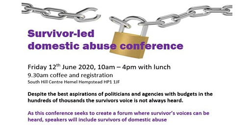 Survivor Led Domestic Abuse Conference