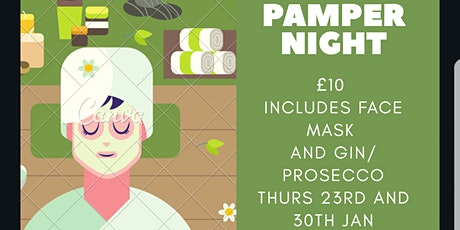 £10 GIN AND PROSECCO PAMPER NIGHT tickets