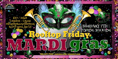 Rooftop Friday Mardi Gras tickets