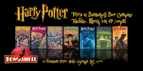 Harry Potter Books Trivia at Bombshell Beer Company tickets