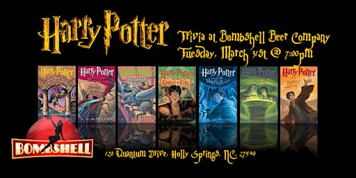 Harry Potter Books Trivia at Bombshell Beer Company
