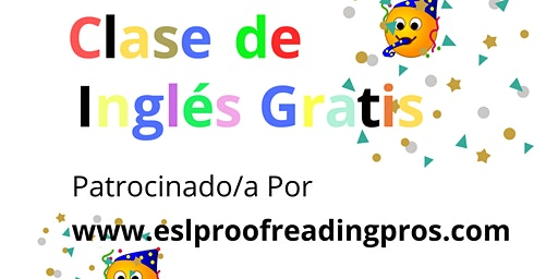 Clase de Inglés Gratis (Free English Class)