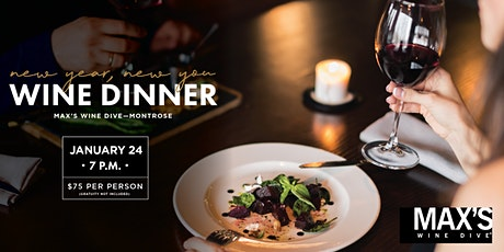 New Year New You Wine Dinner tickets