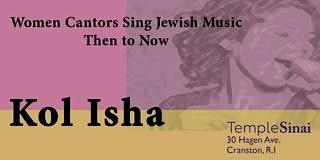 Kol Isha! Voice of a Woman