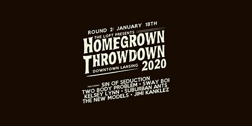 Homegrown Throwdown 2020 - ROUND #2