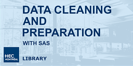 Data cleaning and preparation with SAS billets