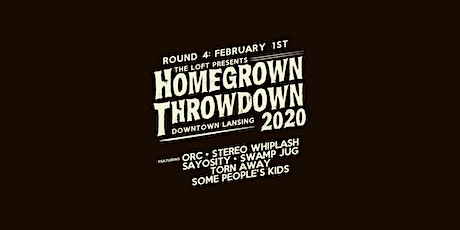 Homegrown Throwdown 2020 - ROUND #4 tickets