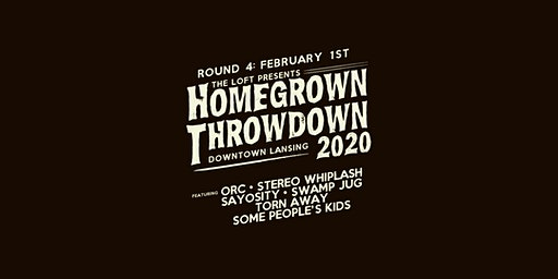 Homegrown Throwdown 2020 - ROUND #4