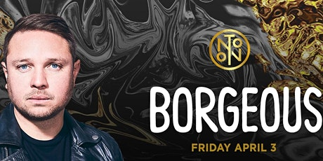 Borgeous @ Noto Philly April 3 tickets