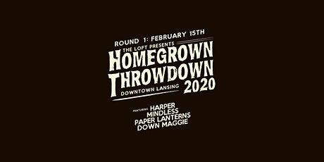 Homegrown Throwdown 2020 - ROUND #1 tickets