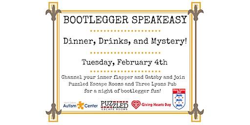 Bootlegger Speakeasy (7-9pm)
