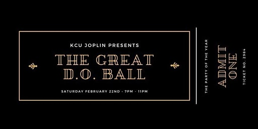 KCU-Joplin Presents The Great D.O. Ball