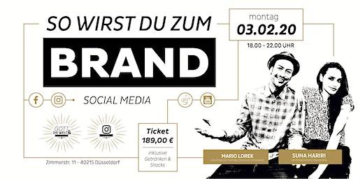 So wirst Du zum Brand - Social Media Marketing WORKSHOP