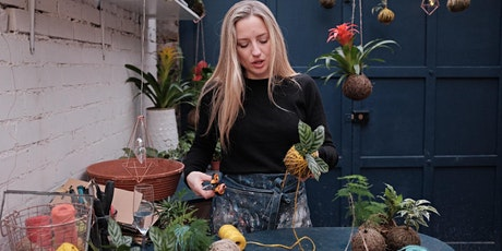Kokedama Masterclass (Make a Japanese Hanging Garden) tickets