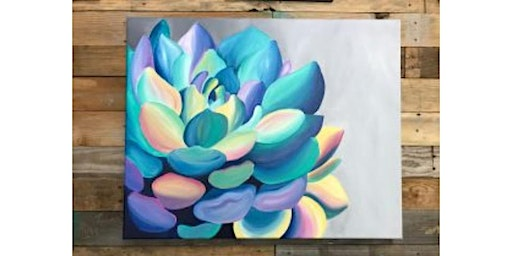 Cactus Canvas Painting Workshop- Buford