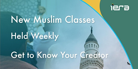 New Muslims Weekly Class tickets