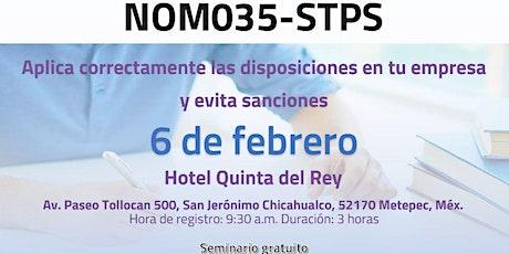NOM035- STPS (Toluca) boletos